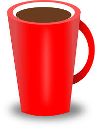 Red Coffee Cup Icons PNG