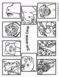 Zoo Animal Coloring Pages Printable Home Animals To Print