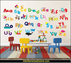 Decorating theme bedrooms Maries Manor playrooms alphabet numbers