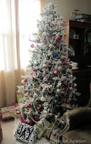 75 Flocked Christmas Tree by 74 Best Christmas Trees Images On Pinterest La La La Events And