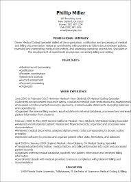 Professional Medical Coding Specialist Resume Templates To Showcase Your Talent