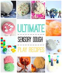 Pumpkin Spice Jello Playdough by Ultimate Sensory Dough Play Recipes Fspdt