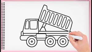 How To Draw Dump Truck Step By Step Learn Easy And Simple Drawing ... How To Draw The Atv With A Pencil Step By Pick Up Truck Drawing Car Reviews 2018 Page Shows To Learn Step By Draw A Toy Tipper 2 Mack 3d Pickup 1 Cakepins Truck Youtube Cars Trucks Sbystep Itructions For 28 Different Vehicles Simple Dump Printable Drawing Sheet Diesel Drawings Best Of Monster An F150 Ford