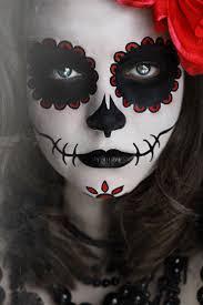 Halloween Half Mask Makeup by 149 Best Día De Los Muertos Catrina Makeup Images On Pinterest