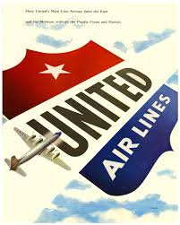 Great Vintage United Airlines Ad