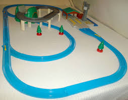 Tidmouth Sheds Trackmaster Ebay by Tomy Trackmaster Thomas The Tank Engine Train Track Set Cranky