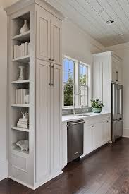 Great Kitchen Cabinet End Shelves And Panel Design Ideas