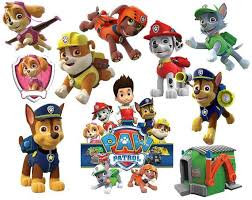 Paw patrol clipart party digital clipart by emilyartclipart paw