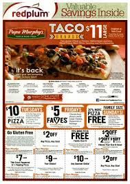 Manufacturers Get In On Cinco De Mayo Festivities | Kantar Media Order Online For Best Pizza Near You L Papa Murphys Take N Sassy Printable Coupon Suzannes Blog Marlboro Mobile Coupons Slickdealsnet Survey Win Redemption Code At Wwwpasurveycom 10 Tuesday Any Large For Grhub Promo Codes How To Use Them And Where Find Parent Involve April 26 2019 Ca State Fair California State Fair 20191023 Chattanooga Mocs On Twitter Mocs Win With The Exciting Murphys Pizza Prices Is Hobby Lobby Open Thanksgiving