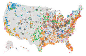 U S electricity generation by source Natural gas vs coal