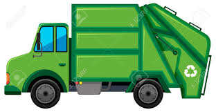 Rubbish Truck With Recycle Sign Illustration Royalty Free Cliparts ...