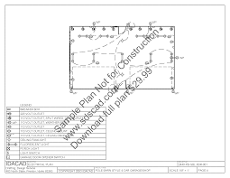 Free Pole Barn House Floor Plans by Plans For A 20 X 50 Pole Barn Sds Plans