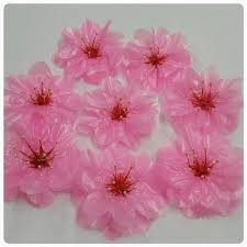 Tutorial For Cherry Blossoms Using Plastic Bag Crazzy Craft