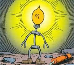 Reddy Kilowatt Character Lamp by Reddykilowatt Org All About Reddy Kilowatt Sightings History