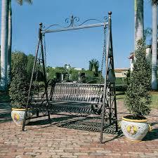 Design Toscano Rockaway Garden Swing