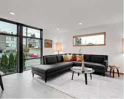 Grey Sectional Living Room Ideas by Charcoal Grey Sectional Houzz