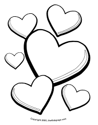 Happy Valentines Day Hearts Coloring Pages 15 2