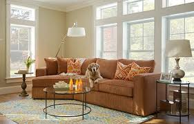 Sectional Sofa With Cuddler Chaise by Circle Furniture Circle Furniture Living Room Milford Cuddle