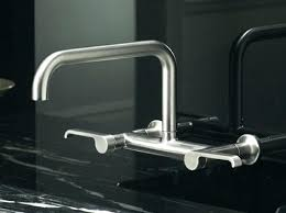 Wall Mounted Kitchen Faucet Single Handle by Side Mount Kitchen Faucet U2013 Imindmap Us