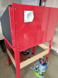 Harbor Freight Sandblasting Cabinet by Making A Cheap Chemical Fume Chamber U2014 The Half Baked Maker