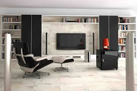 With White Stone Tiles Latest Living Room Floor