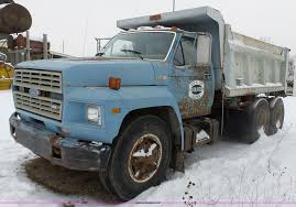 100 Ford Truck 1980 F700 Dump Truck Item L3661 SOLD February 11 C