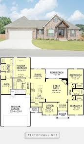 Craftsman Style Floor Plans by 528 Best House Plans Images On Pinterest Architecture Home