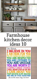 Kitchen Decor And Design On Farmhouse Kitchen Decor Ideas 10 Bauernhaus Küchen Dekor