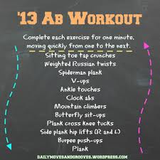 Its All About Perspective Ab Workout Daily Moves And Grooves