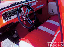 100 Custom Truck Interior Ideas 1965 Chevrolet C10 Hot Rod Network