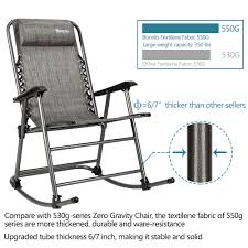 Details About Zero Gravity Rocking Chair Beach Reclining Folding Chairs For  Camping Hiking Costway Folding Rocking Chair Rocker Porch Zero Gravity Fniture Sunshade Canopy Beige Massage Garden Tasures Metal Stationary Chairs With Brown Outdoor Living Meijer Grocery Pharmacy Home More Leisure Zone 2 X Textoline Recling Table Beach Sun Lounger Loungers Recliner Lawn Patio The Depot Case Of Black Lounge Yard Cup Holders Guide Gear Oversized 500 Lb Blue Low Profile Sling Camping Concert With Mesh Back Holder For Wilko Woven Green