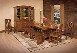 Old Wood Dining Room Table by The Olde Oak Tree Furnishing Generations Fort Wayne In