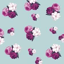 Floral Rose Wallpaper Rclassic Seamless Vintage Flower Pattern Shop Preview