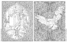 Harry Potter Colouring Pages Online Book PINTEREST