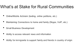 Title II Reclassification What It Means To Rural Communities ...