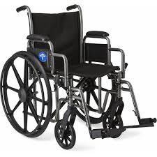 Medline Transport Chair Instructions by Medline Excel K1 Basic Steel Wheelchair Walmart Com