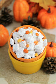 Pumpkin Spice Chex Mix With Candy Corn by Pumpkin Spice Muddy Buddies Frugal Mom Eh