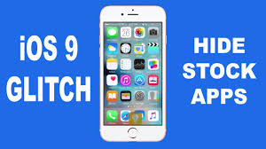 iOS 9 Glitch Hide Apps on your Home Screen