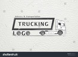 100 Trucking Solutions Delivery Service Cargo Transportation Logistics Freight Stock