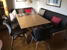esszimmer massivholzmöbel voglauer tisch 3 stühle eckbank