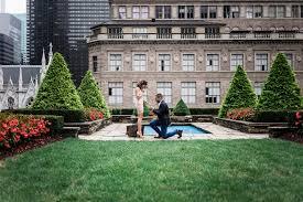jessica & johnny nyc destination proposal 620 loft & garden