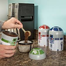 this set of metal droid containers that will keep your