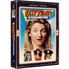 100 Blu Home Video Universal Fast Times At Ridgemont High VHS Artwork
