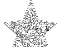 Pin Drawn Star Christmas 9