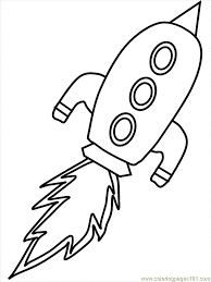 Print Coloring Page And Book Rocket Space Pages For Kids Of All Ages Updated On Tuesday February