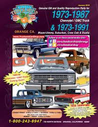 100 Chevy Truck Parts Catalog Free Ts 73 87 Web Cat By Car Shop Issuu