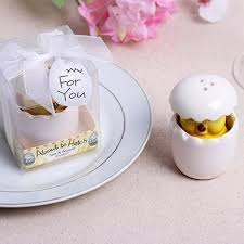 About To Hatch Ceramic Baby Chick Salt Pepper Shaker