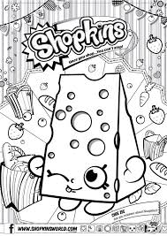 Shopkins Coloring Pages And On Pinterest