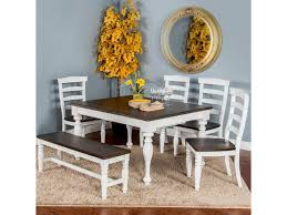 Sunny Designs Bourbon County Six Piece Table Set With Bench | Sparks ... Hill Country Rectangular Table With Four Side Chairs And One Bench Kitchen Seat Fresh Ding Country Home Farm Table And Chair Set Just Fine Tables Wooden Cost Room Leons With Style Sets Home Interior Blog 6 Pc Farmhouse For Shabby Chic Pine Louis Xvi Benches Another Farmhouse Ding Room Set Bench The History Of Gbvims Makeover