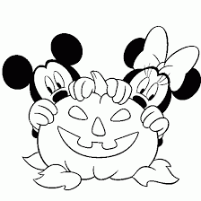 Winsome Ideas Halloween Coloring Pages Disney Characters From To Free Main Page